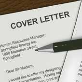 Editing a Cover Letter to apply for a job